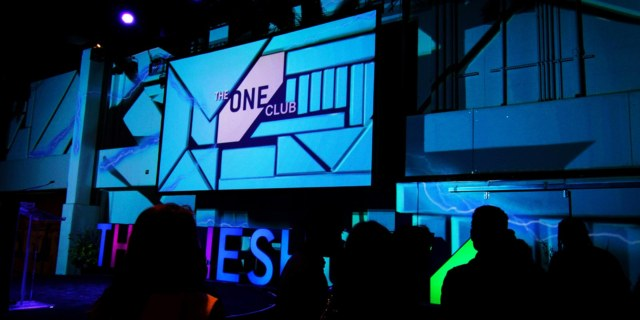 3d projection mapping one club creative week new york city pixel rain digital digital media integrated visions the one show nyc creative content